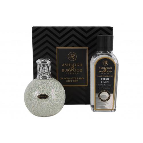 Ashleigh & Burwood Fragrance Lamp Giftbox - The Pearl & Fresh Linen