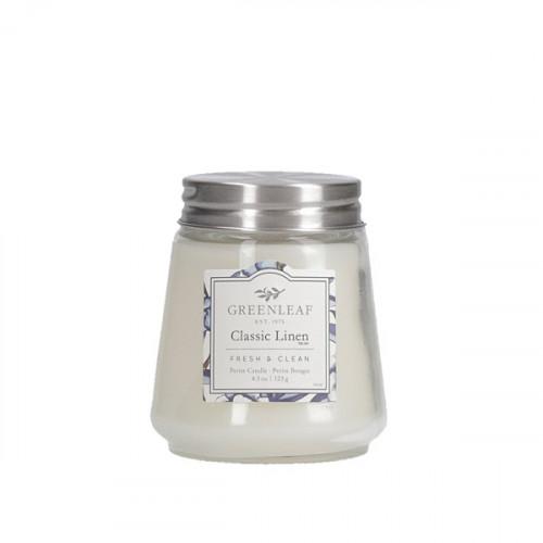 Greenleaf Classic Linen Petite Candle
