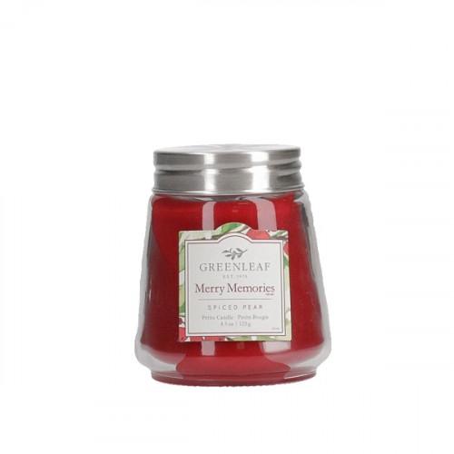Greenleaf Merry Memories Petite Candle