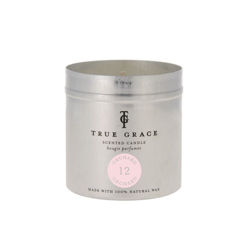 True Grace - Tin Candle - Walled Garden - Orchard