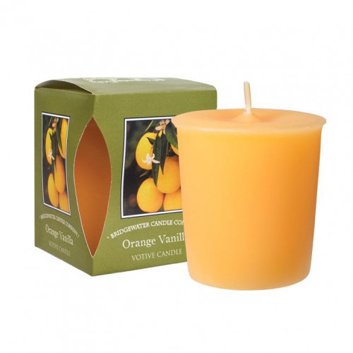 Bridgewater Candle Company - Votive Candle - Orange Vanilla