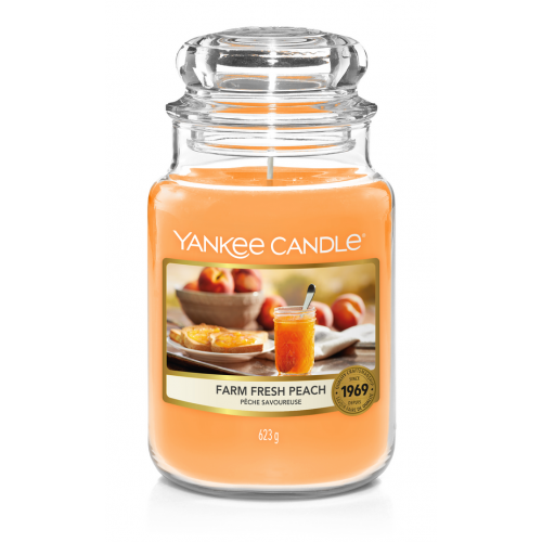 Yankee Candle Farm Fresh Peach Large Jar
